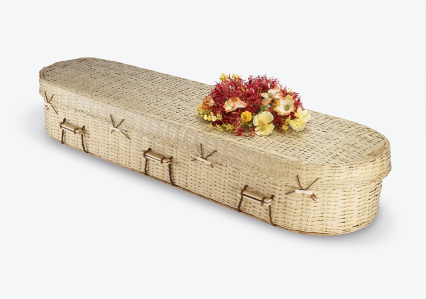The Bamboo Eco Round coffin