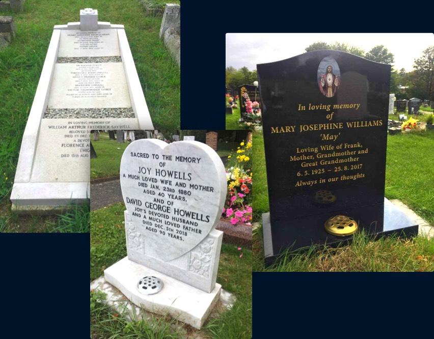 Bespoke memorials from Edward Carter.