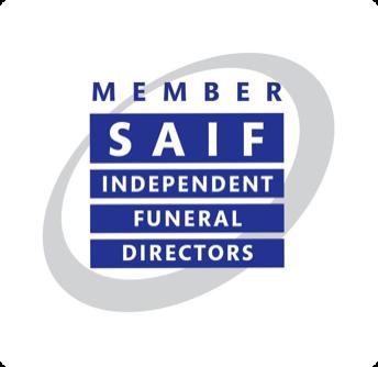 SAIF logo - independent funeral directors